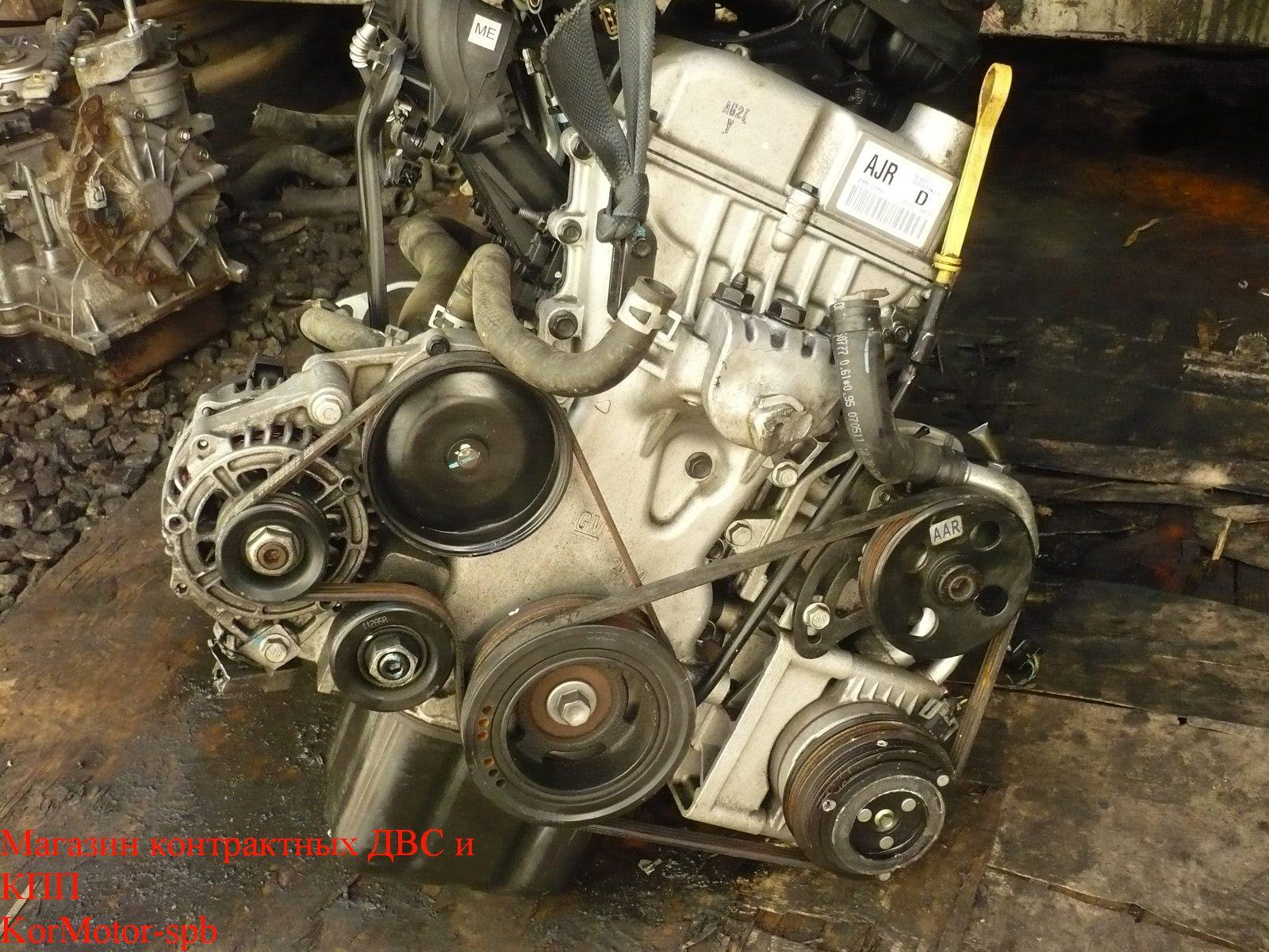 Двигатель Шевроле Спарк, Дэу Матиз 1.0 B10D1