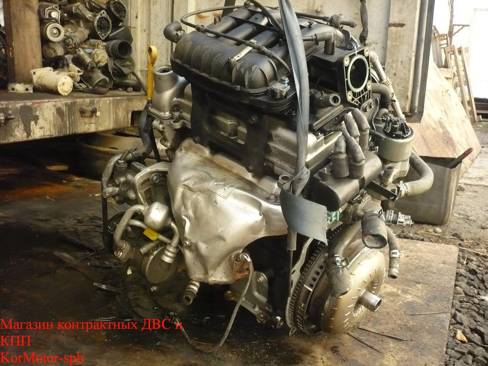 Двигатель B10D1 Шевроле Спарк ( Chevrolet Spark ) 1.0 68 л.с M300 2010-2015 S-TECH II 16v 96474056, 2519477,25189207