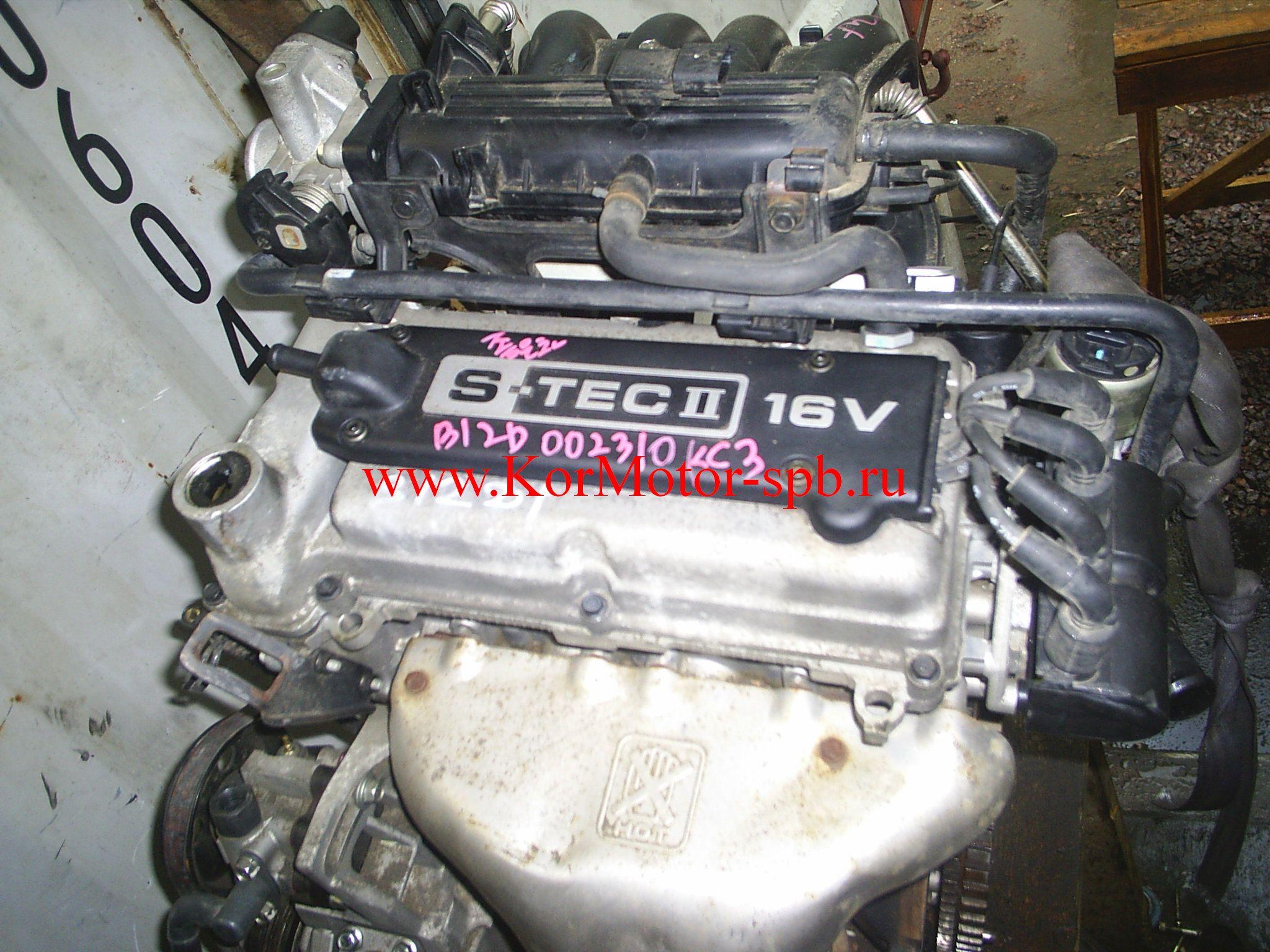 Двигатель Шевроле Авео, Спарк, Дэу Матиз 1.2 B12D1