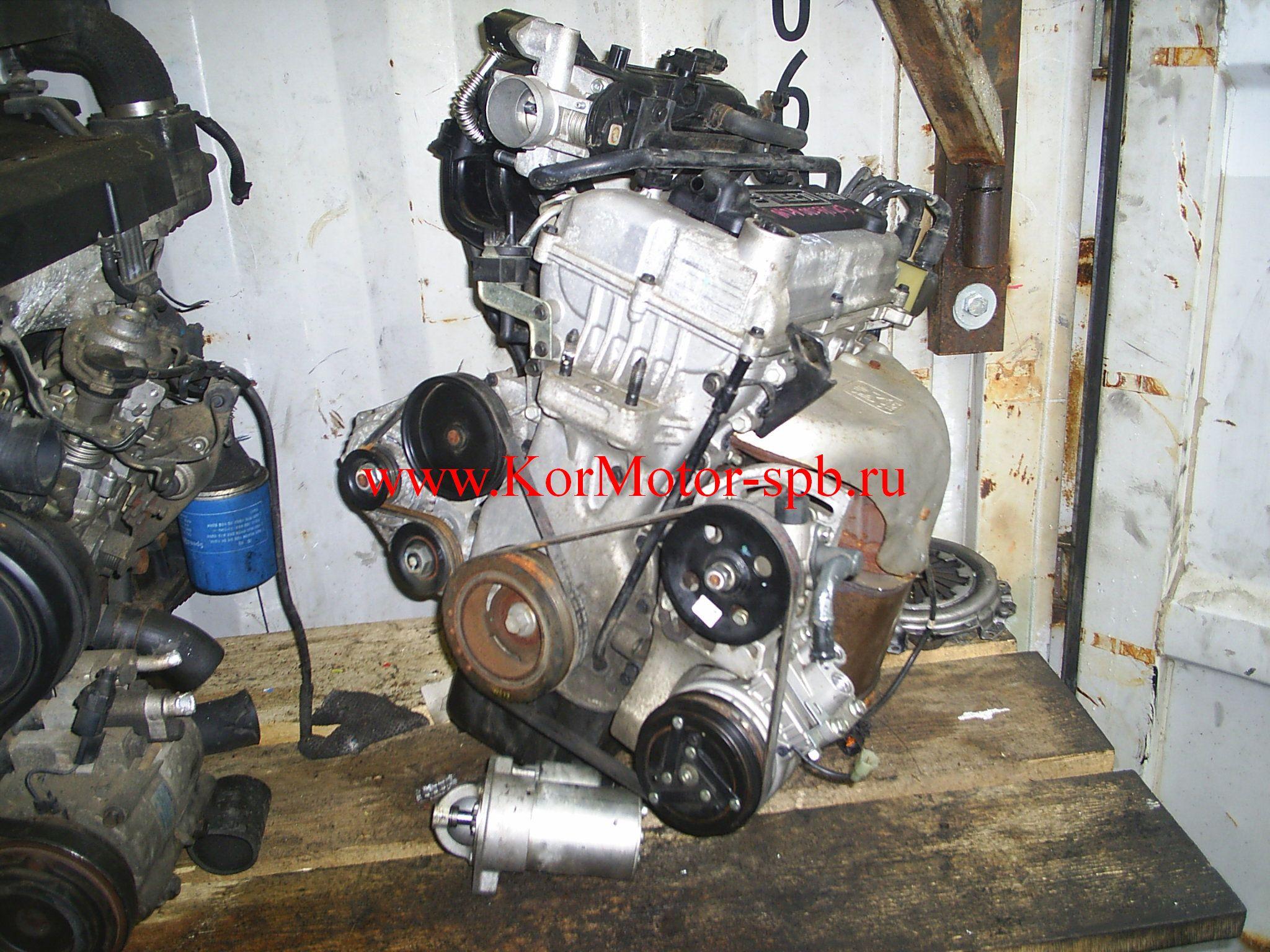Купить двигатель Шевроле Авео 1.2 B12D1