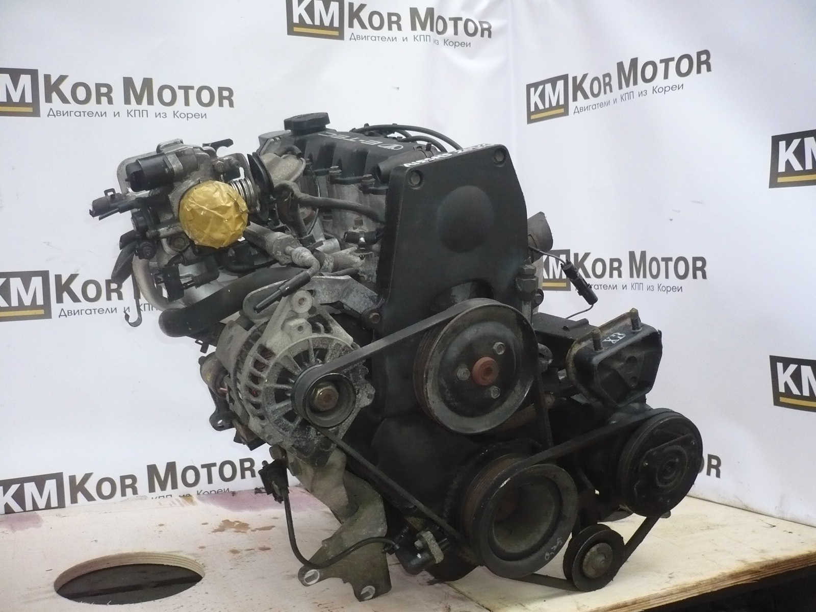 двигатель Шевроле Ланос 1,5 A15SMS купить