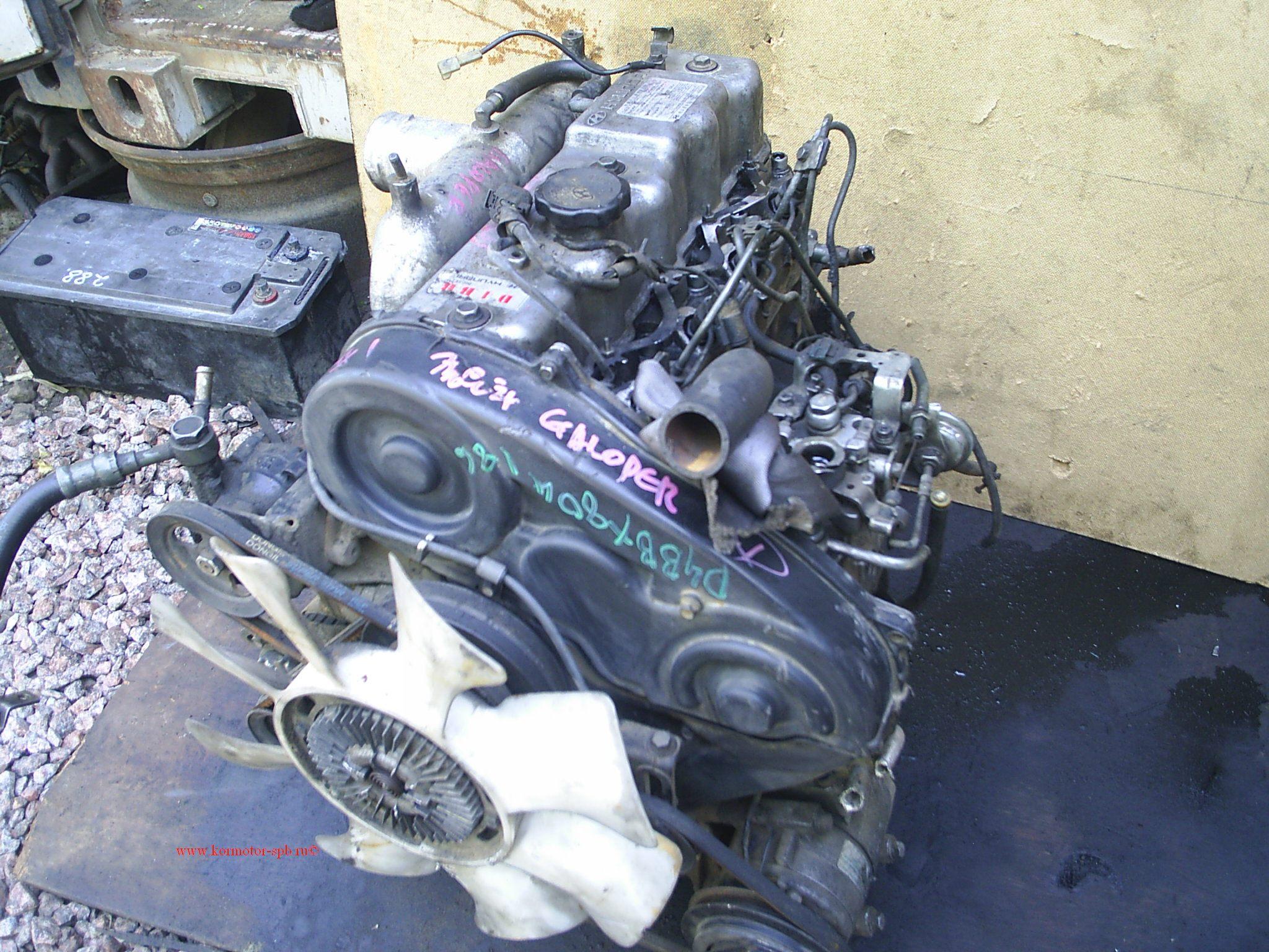 Купить двигатель  для Hyundai Poreter 2.5 D4BB