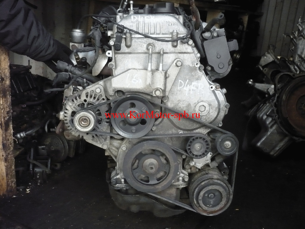 Двигатель D4FB Kia, Hyundai 162Y12AH00, 160Y12AH00, 159Y12AH00,  235Y22AH00,233Y22AH00, 152Y12AH00, KZ42602100,KZ42602100A, 230Y22AH00,109Y12AH00,109Y12AH00A, 155Y12AH00,KZ42602100A, Z45112AZ00,Z45112AZ00,