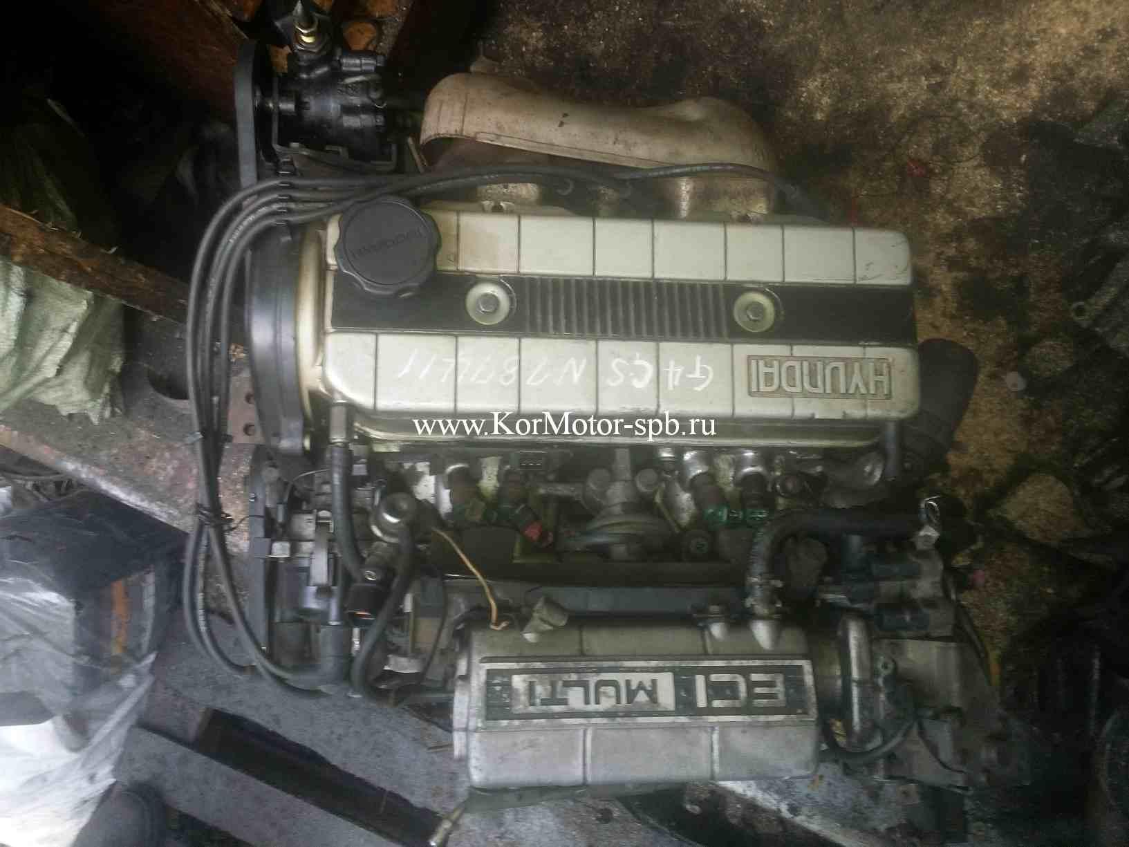Двигатель G4CS 2.4 бензин Hyndai Sonata, Starex 2110132T00, 2110232H00, 2110132V00