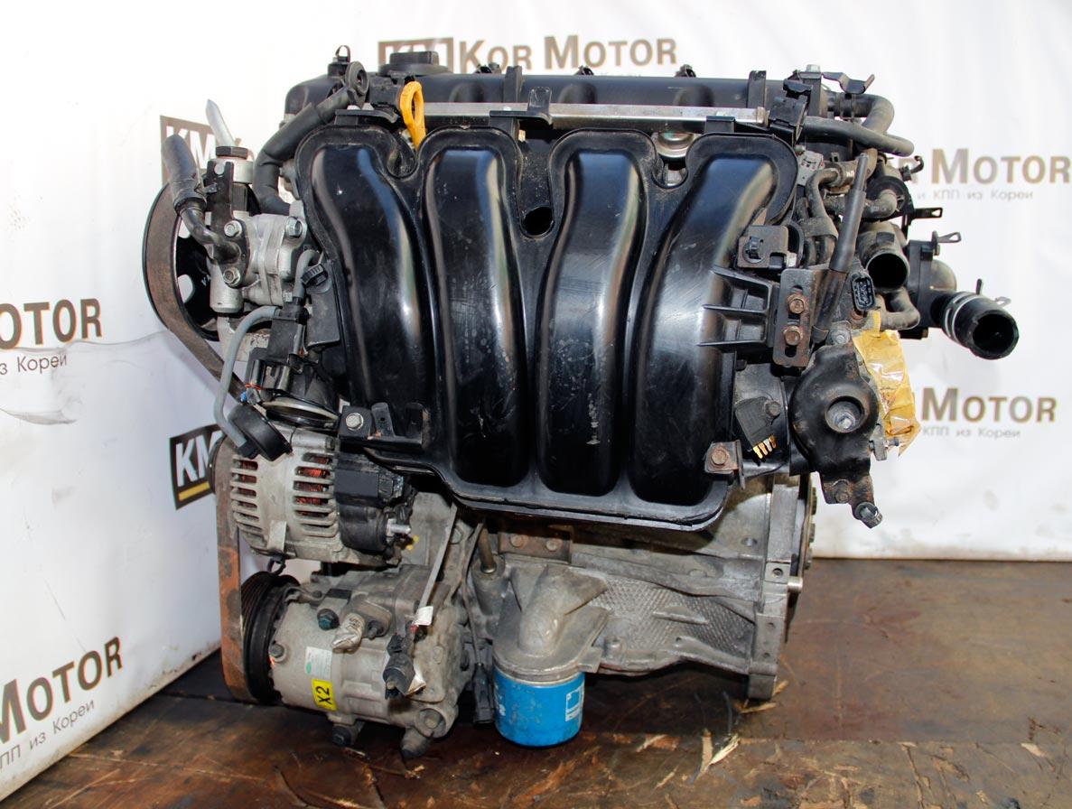 Двигатель G4KD 2.0 бензин Киа Карнс, Маджентис, Хендай Соната 149X12GH00, 182X12GH00, 2G0722GU00, 257Y22GH00