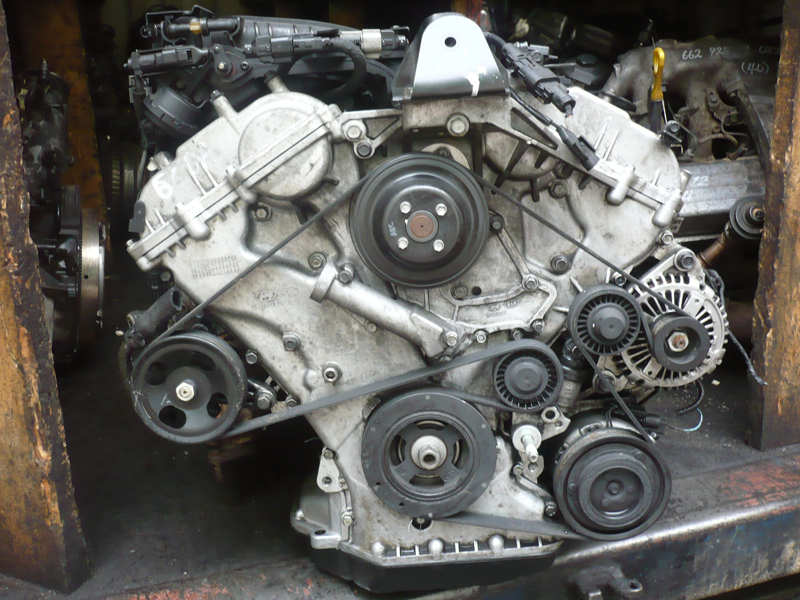 Купить двигатель 3.8 литра G6DA
