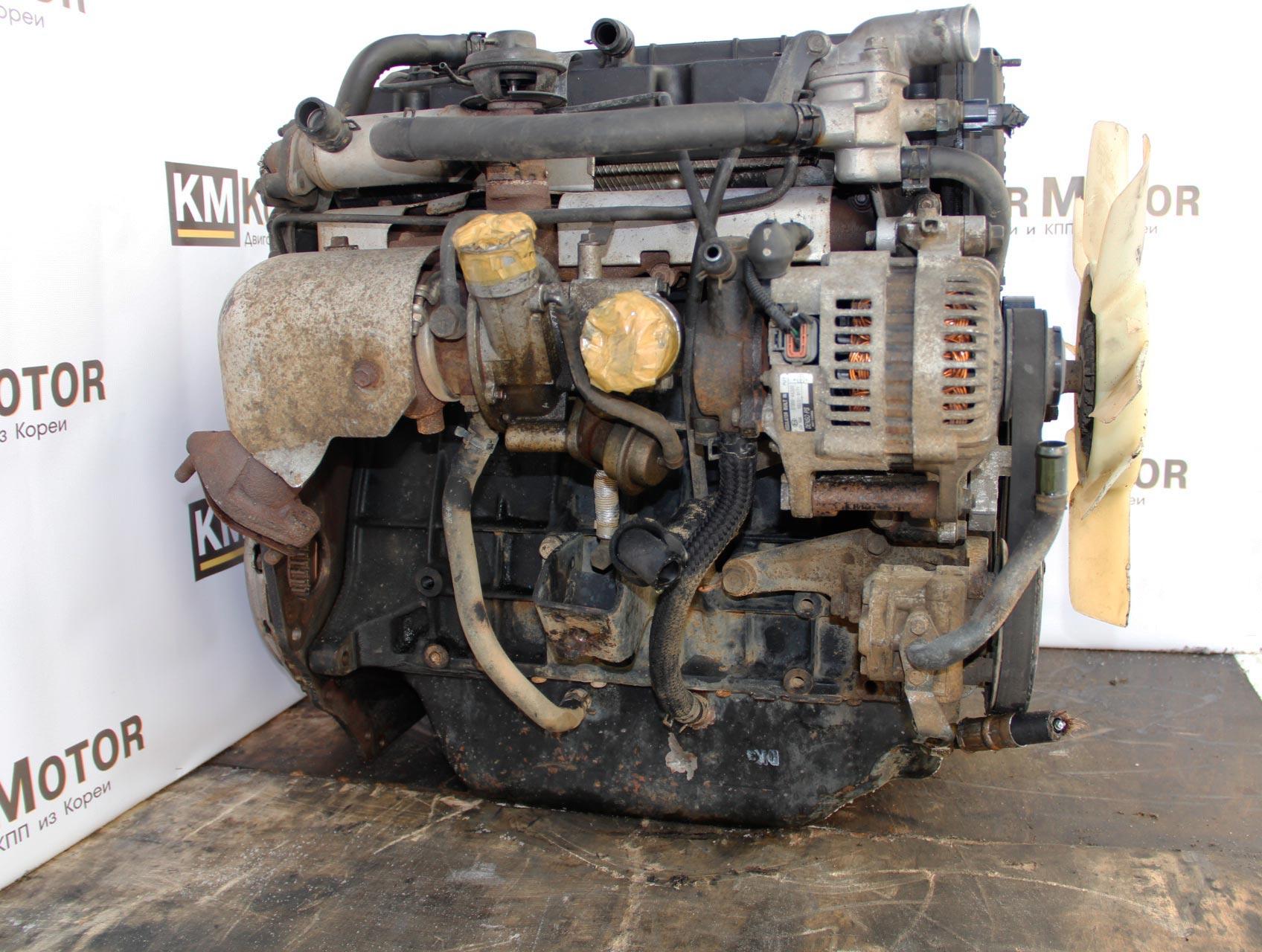 Контрактный двигатель Kia Bongo 3 ( Киа Бонго 3 ) 2,9 125 л.с 126 л.с,