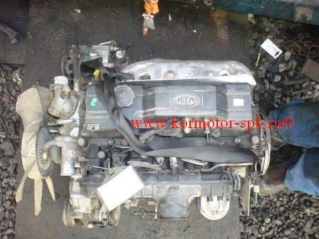 Двигатель Киа Бонго, К3000 JT дизель 3.0