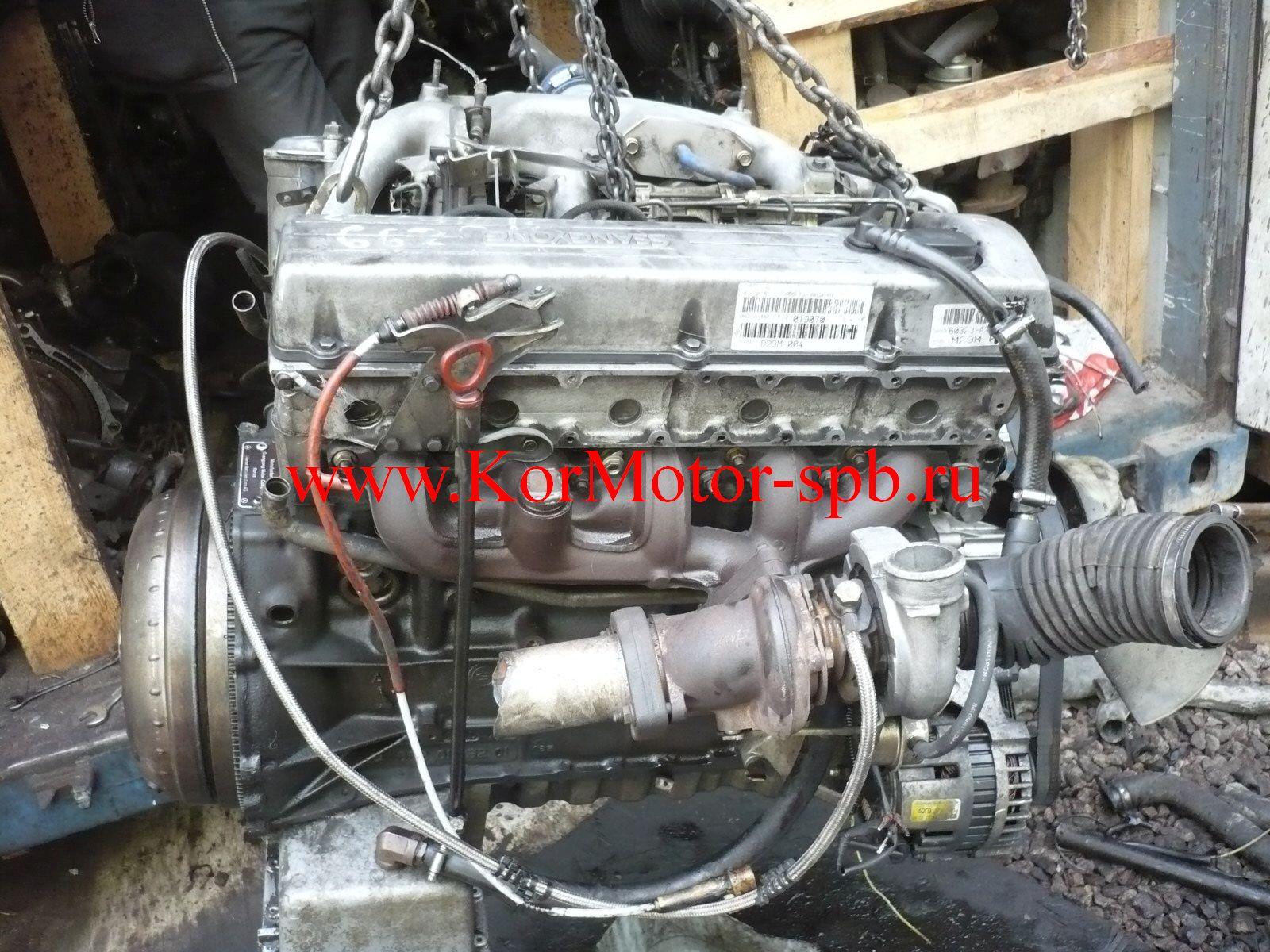 Двигатель Корандо 2,3 ( SsangYong Korando) дизель 661