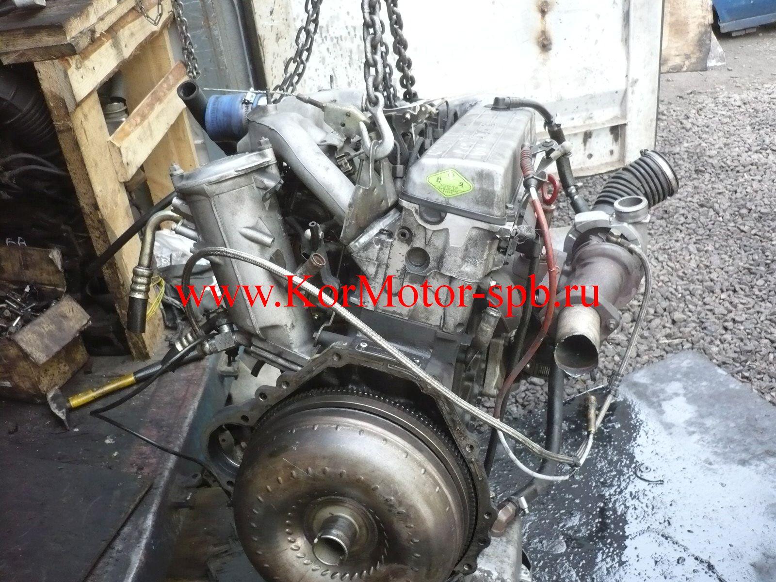 Двигатель Корандо, Муссо 2,9 дизель 662
