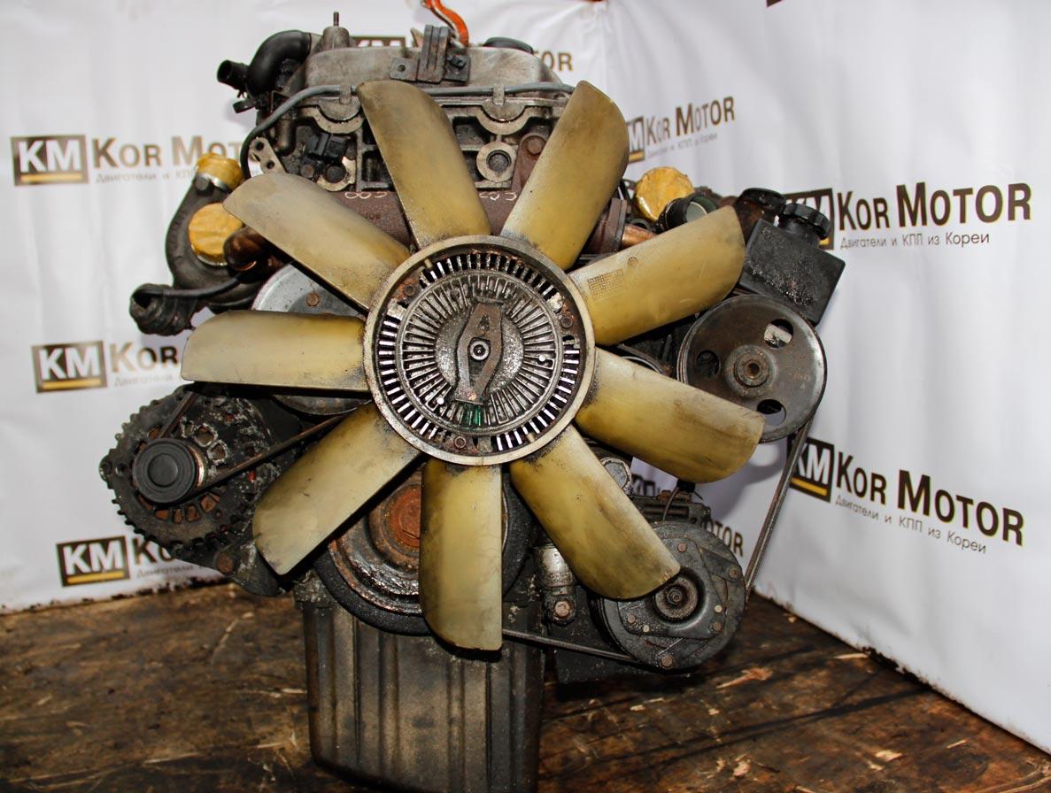 Двигатель SsangYong Rexton 2.7 665 925 165 л.с. Rexton engine 2.7 665 925 165 h.p D27DT